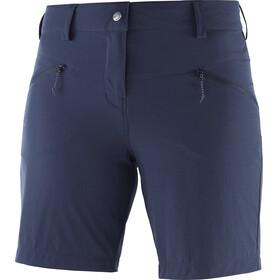 Salomon Wayfarer LT Bukser korte Damer blå